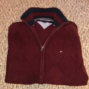 Tommy Hilfiger zip up cardigan